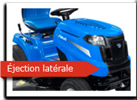 Ejection latérale / mulching
